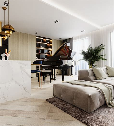 interior scene  behance