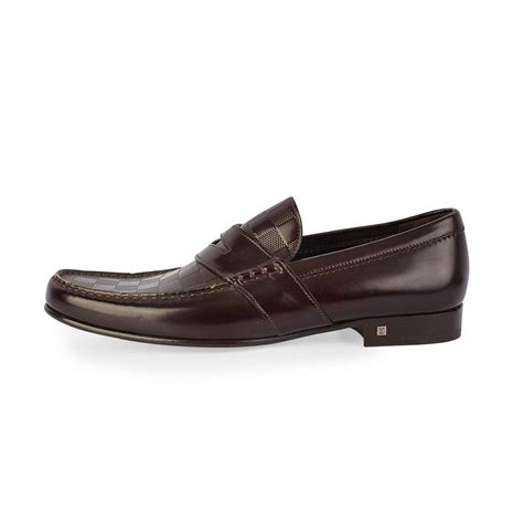 lv loafers louis vuitton graduation loafers brown s 42 8 new