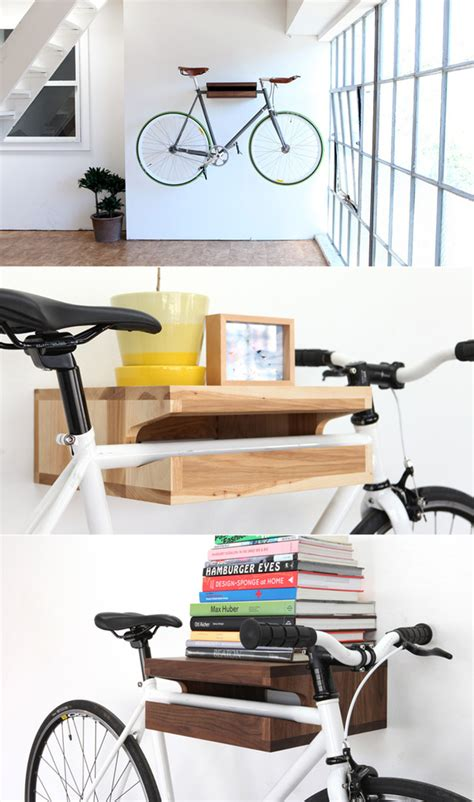 12 space saving bike rack solutions shelf ideas