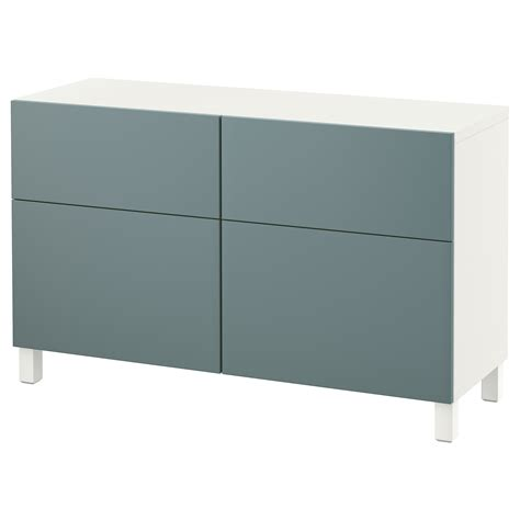 ikea besta drawers best 197 storage combination w doors drawers white valviken