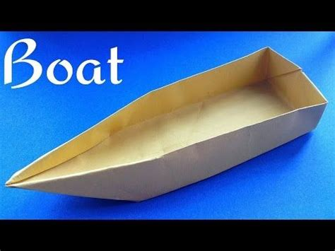 sailing boat origami origami sailing boat that floats on water henry phạm