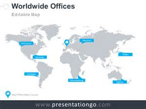 World Map Template For Powerpoint free maps powerpoint templates presentationgo