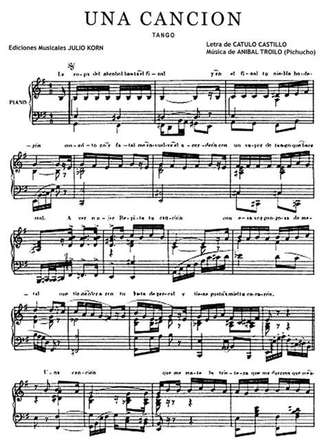 imagenes sensoriales en una cancion una canci 243 n tango