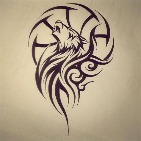 tattoo tribal wolf wolf dreamcatcher tribal tattoo by fingerprint1404