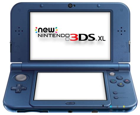 nintendo 3ds xl console new nintendo 3ds xl console metallic blue eb
