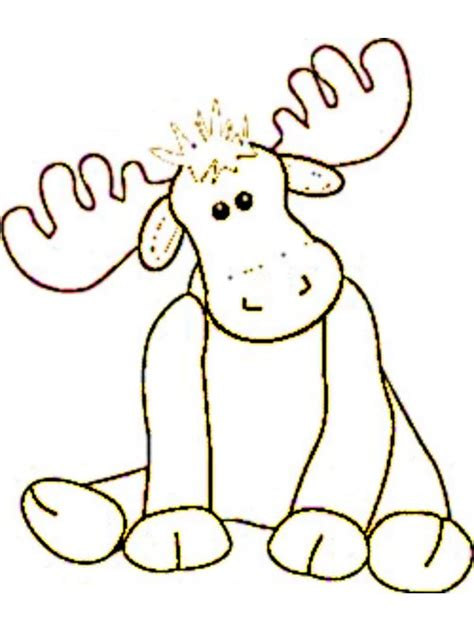 dibujos navideños para pintar renos reno para colorear imagui