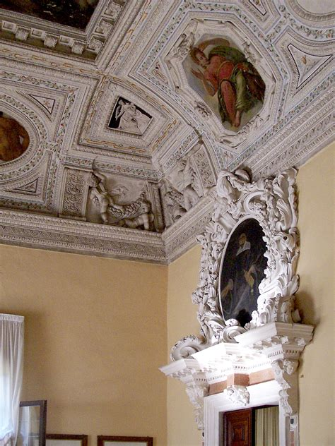 Villa Rotonda Interior by Villa Capra Ceiling Home Building Furniture And