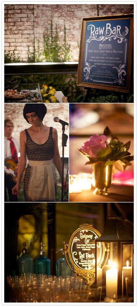 nyc 1930 s speakeasy theme wedding shannon chris real weddings 100 layer cake