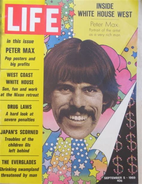 biography of peter max artist peter max pop artist