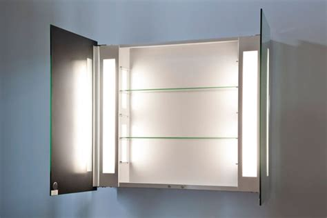 mirrored bathroom cabinets with shaver point ambient bathroom mirror cabinet with sensor internal