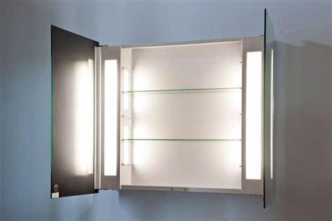 Ambient Bathroom Mirror Cabinet With Sensor amp; Internal