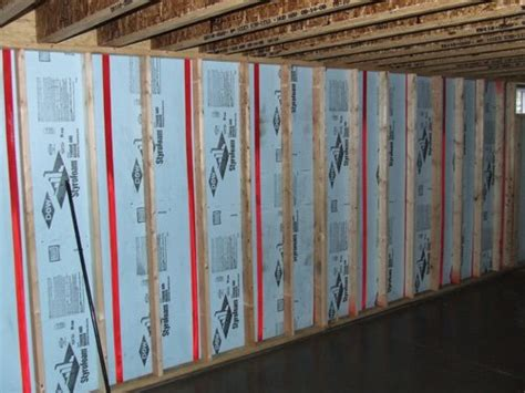 insulate basement walls using xps foam board