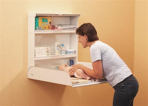 Wall Changing Table Eibe Wall Mounted Changing Table House Ideas Change Tables Babies And Nursery