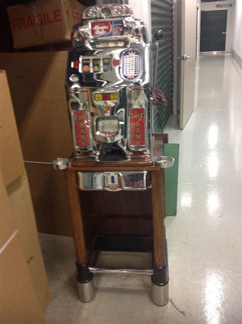 cent jennings monte carlo slot machine  coin break