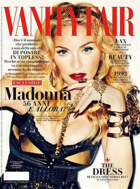 Madonna In Vanity Fair by Madonna On The Cover Of Vanity Fair Italy All About Madonna