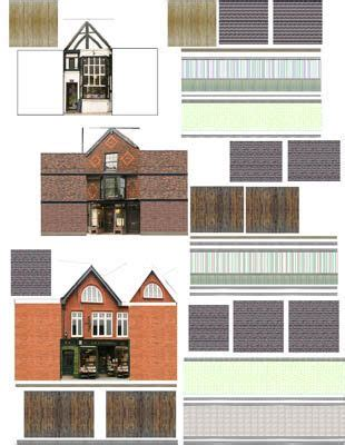 n scale dollhouse sources for free printable miniature houses villages and