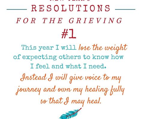 new year s resolutions for the grieving paula stephens