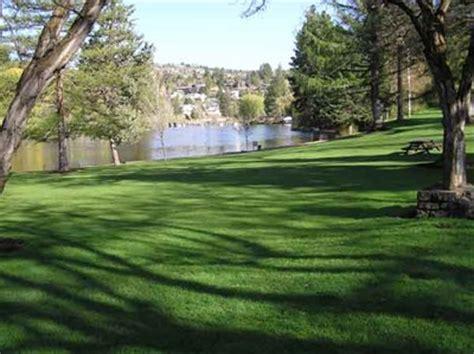 parks bend oregon pioneer park bend or municipal parks and plazas on waymarking