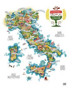 Wine Map Of Italy by Map Of Italian Winesart And Design Inspiration From Around