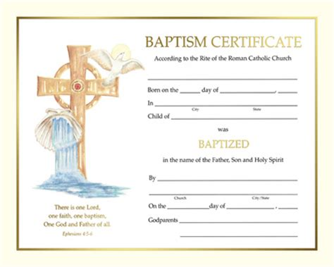 catholic baptism certificate template holy family catholic parish resources