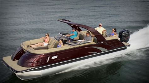 bennington qx boats 2017 boat buyers guide bennington 25 qx fastback youtube
