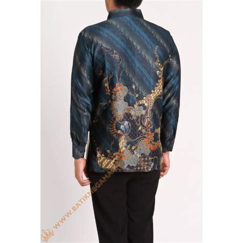 Kemeja Anak Samuel Katun Silk kemeja silk motif naga batik mega makmur toko busana