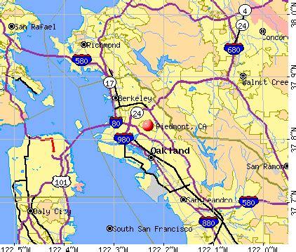 piedmont california ca 94611 profile population maps