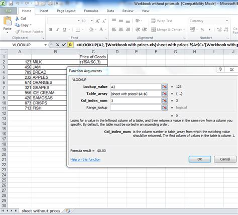 easy vlookup tutorial video a step by step tutorial on a vlookup between two workbooks