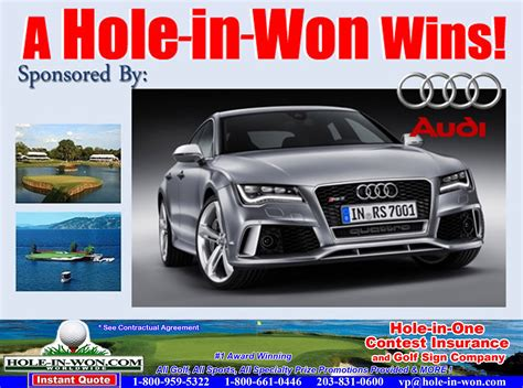 Audi Locher by Audi Hole In One Images
