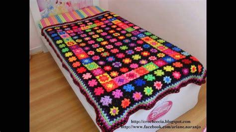 modelos de colchas para camas colchas para camas tejidos a crochet en lindo y variado