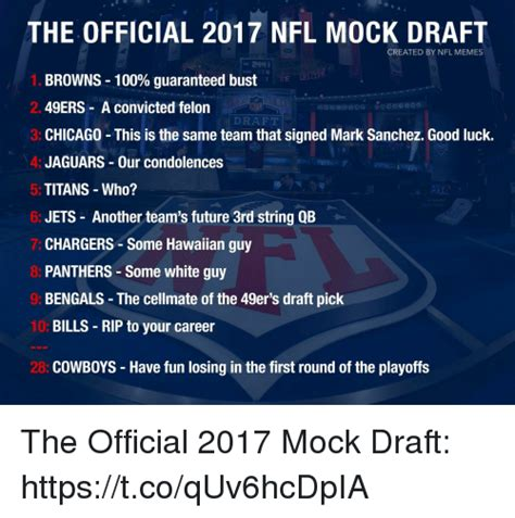 Nfl Draft Memes - search official memes on sizzle