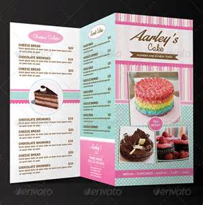27 bakery menu templates free sample example format