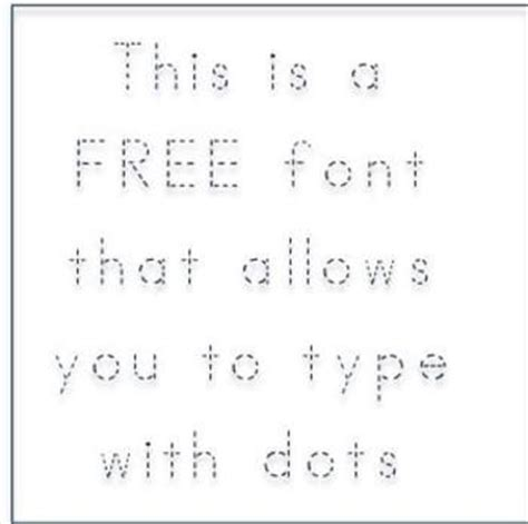 free printable traceable fonts free abc print dotted font fonts4teachers