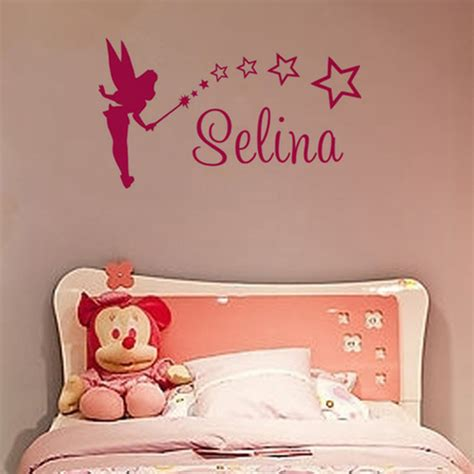 Wall Stickers Beautiful Fairies Interior Home Wall Top Decoration Family Beautiful And