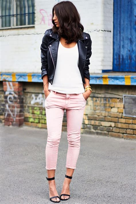 what to wear with light pink pants pink jeans making a huge change in the fashion world