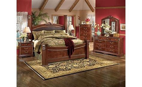 ashton castle bedroom set ashley furniture gilded court