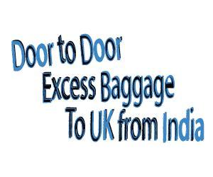 door to door shipping to from uk door to door excess baggage to uk from india