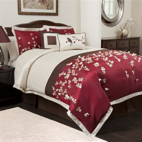 burgundy and cream bedroom master bedroom comforter set possibilities for the home pinterest burgundy