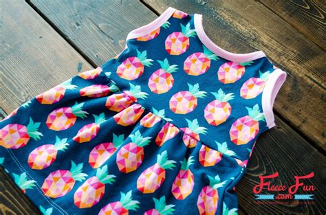 Simple Child Dress Pattern For Beginners