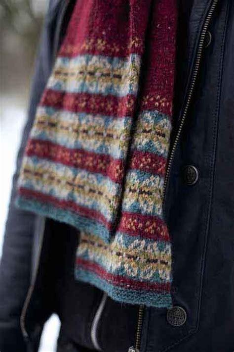 knitting pattern fair isle scarf 14 curated rowan felted tweed ideas by anaspat fair