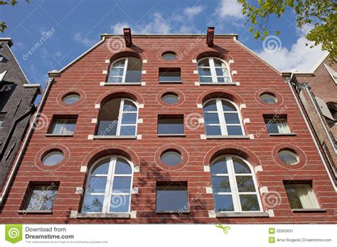 appartment in amsterdam apartment building in amsterdam stock image image 32563631