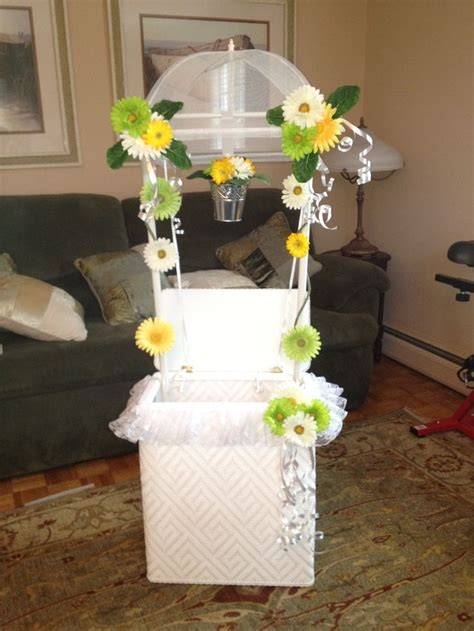 Bridal Shower Wishing Well Ideas by Bridal Shower Wishing Well Made From A Laundry Her