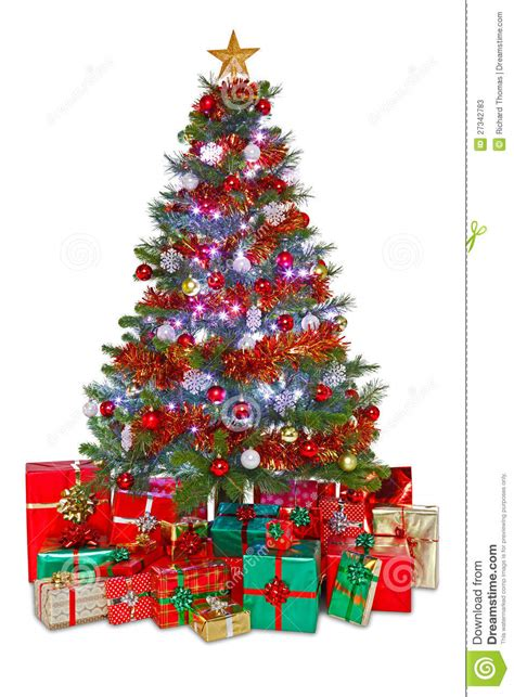 decorated christmas tree stock photos image 27342783