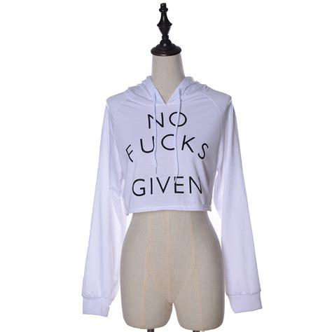 Letter Print Midriff Tops womens letter print crop top sleeve hoodie sweatshirt