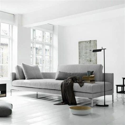 graues sofa inneneinrichtung ideen trendfarbe grau f 252 r das innendesign