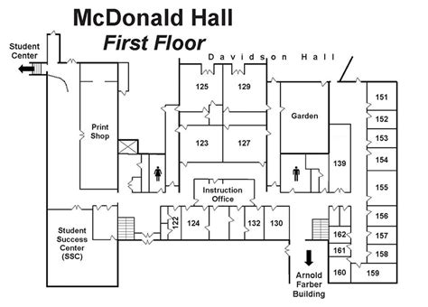 Design Your Kitchen Layout Online floor maps mcdonald hall my crowder
