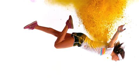 is the color the color run color bursts in motion