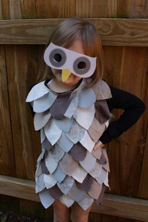 Handmade Owl Costume - diy last minute owl costume for kidsomania