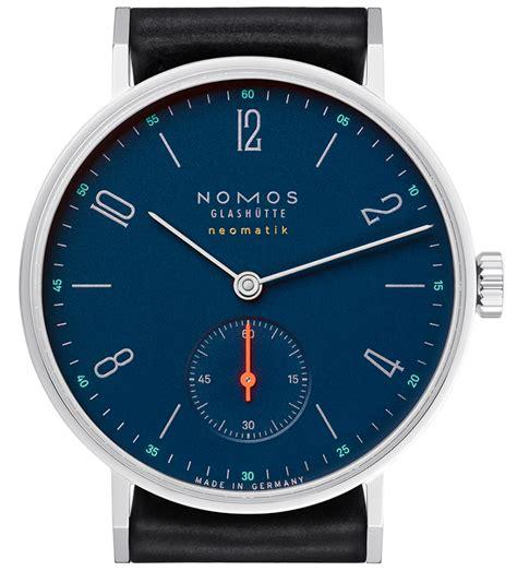 Nomos Orange nomos neomatik nachtblau watches ablogtowatch