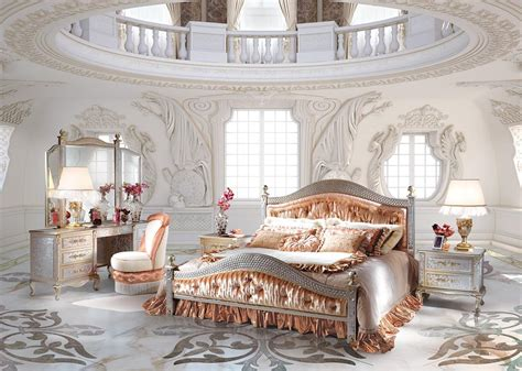 luxury canopy bed classic bedroom composition classic bed with footboard
